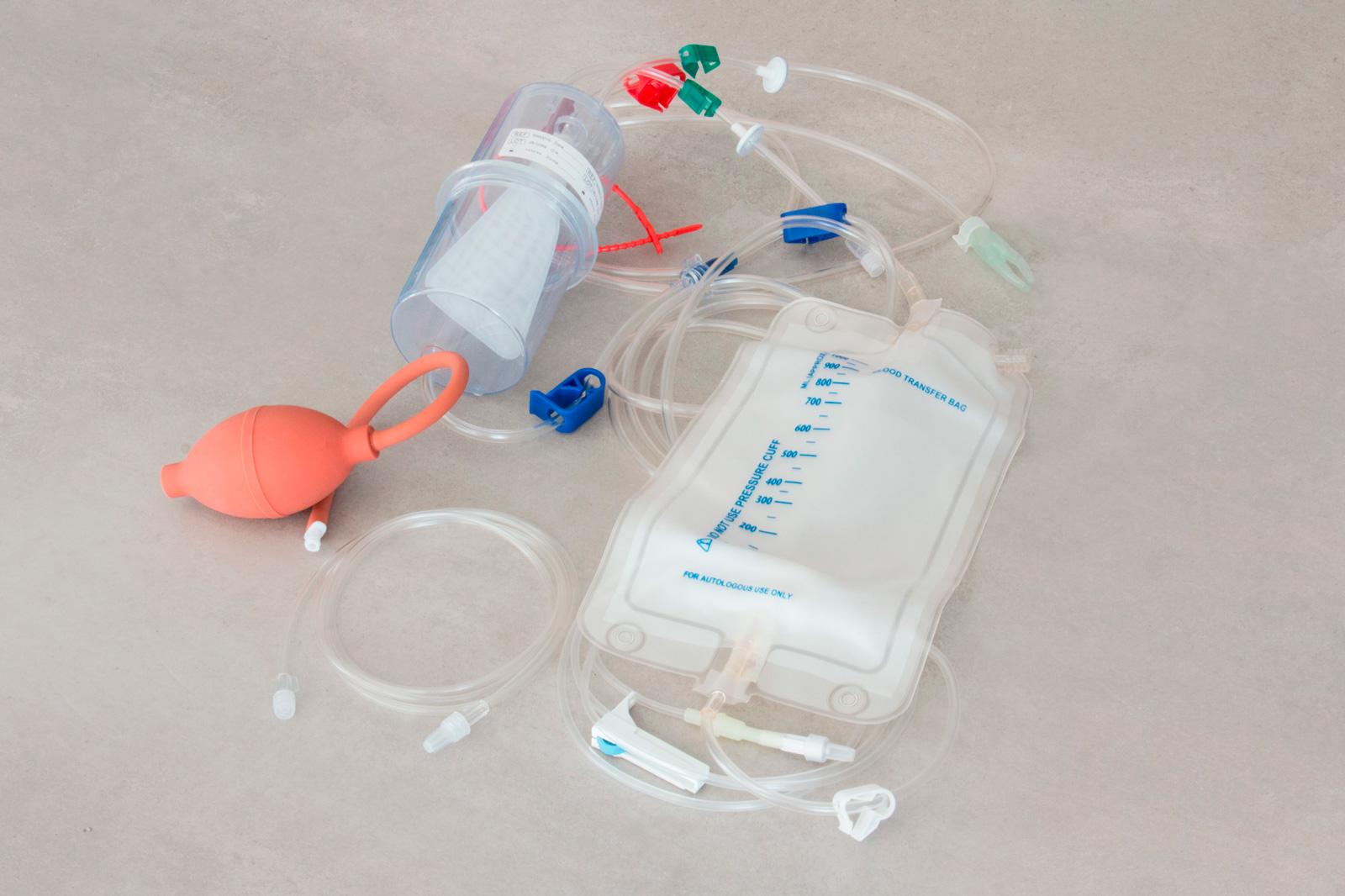 Set per autotrasfusione